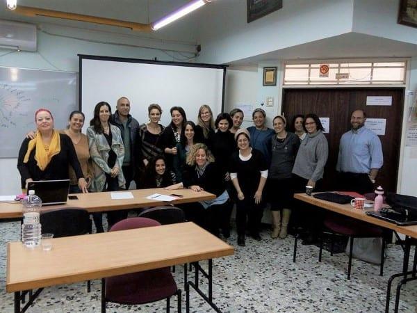 תמונה של בוגרי סדנה שרות זיו ארגנה